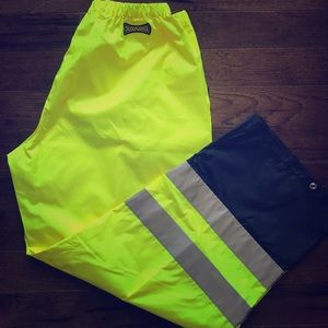 Other - NWOT High Visibility Windbreaker Pants